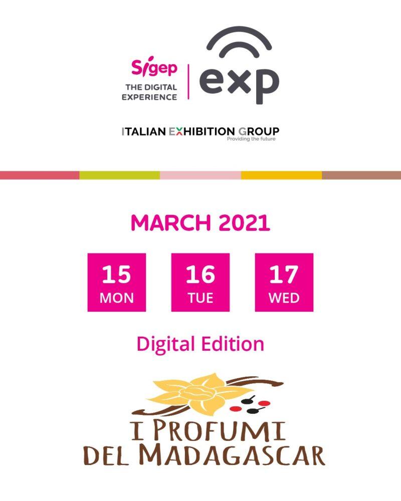 FIERA SIGEP 15-17 Marzo 2021